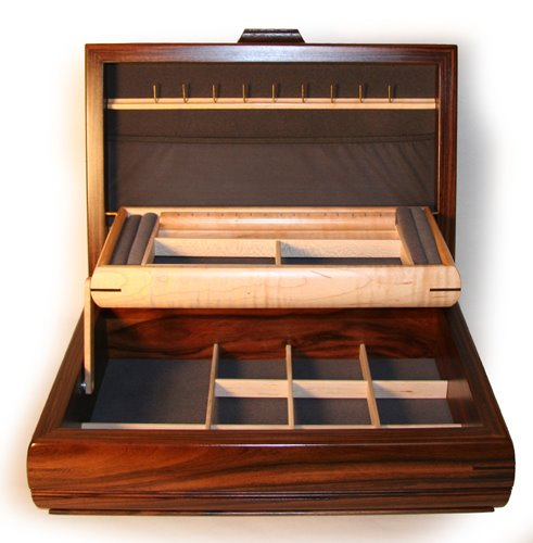 fine woodworking jewelry box plans